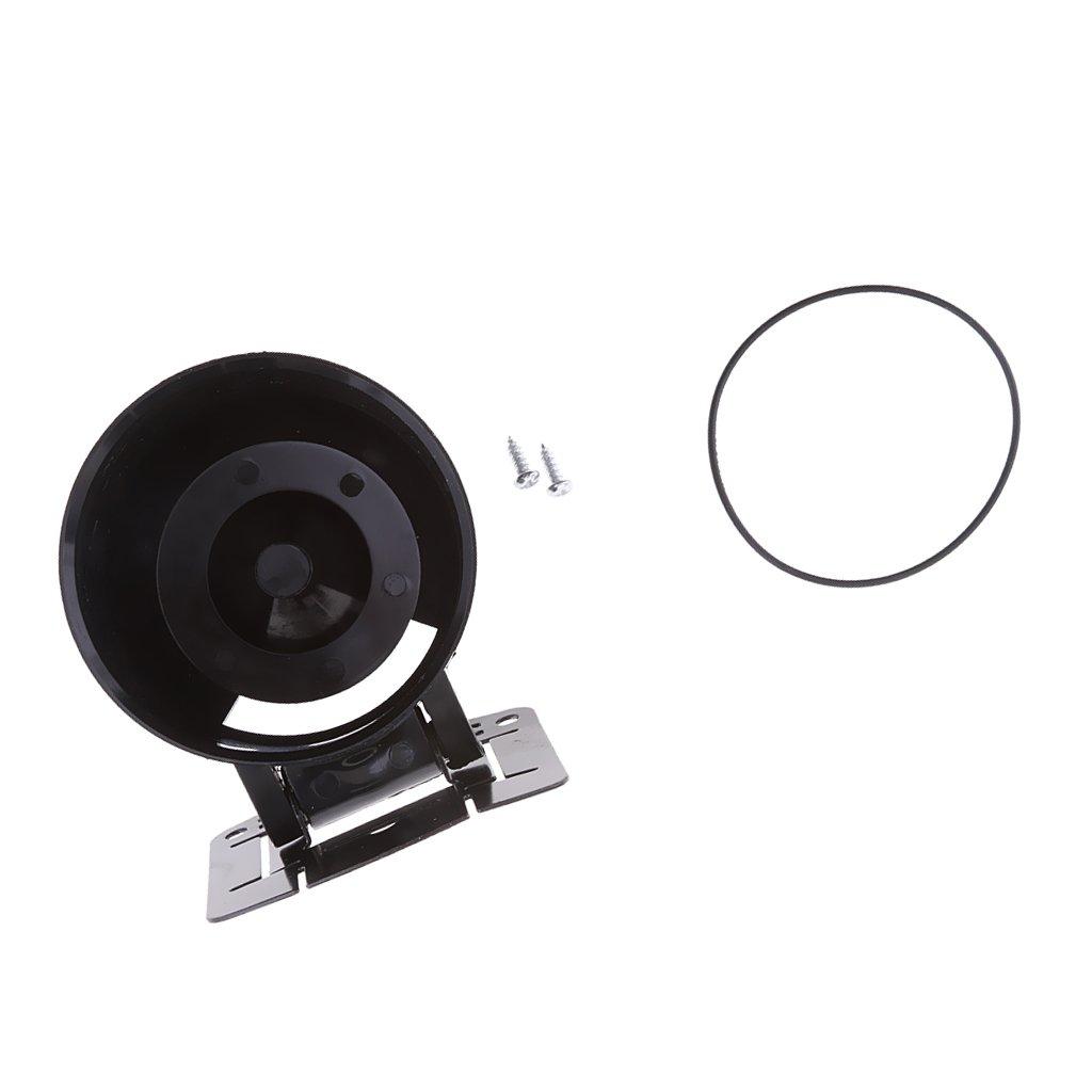 MagiDeal 60 mm Misuratore Calibro Pod Titolare Tazza Montare di Auto Supporto Basamento Nero