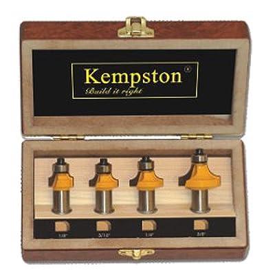 Kempston KC5040 Roundover Set, 1/2-Inch Shank, 4-Piece by Kempston Corporation