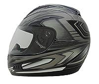 Vega Helmets Altura Full Face Helmet with Velocity Graphics (Black, XX-Large) from Vega Helmets