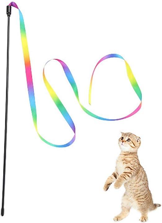 BOENTA Cosas para Gatos Teaser Varita Juguete Gato de Juguete ...