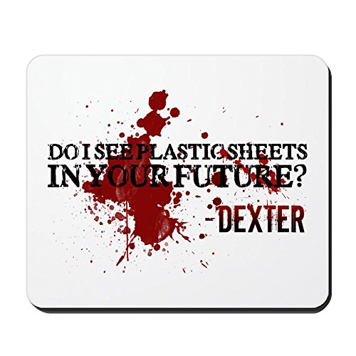 CafePress - Dexter - Non-slip Rubber Mousepad, Gaming Mouse Pad