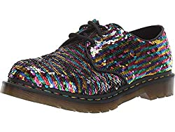 Women's Sequin Oxford Shoes