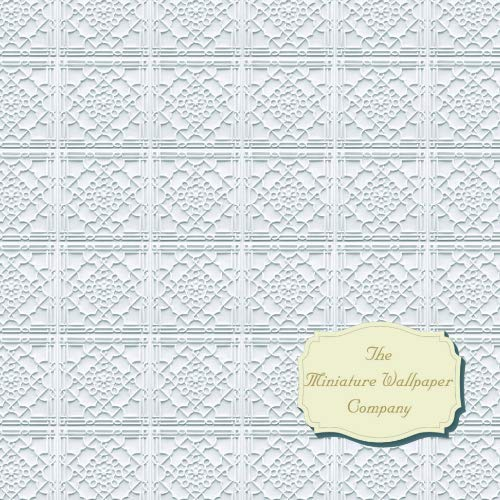 Valley Ceiling Paper 12th Scale Miniature Wallpaper