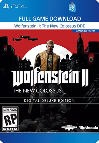 Wolfenstein II: The New Colossus Deluxe Edition - PS4 [Digital Code] by Sony