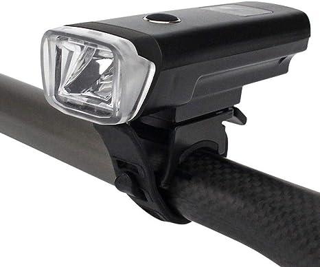 Kaxima Luces de Bicicleta Cargador USB Fuerte Luz Faros Faros ...
