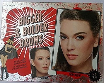 Benefit Cosmetics Bigger & Bolder Brows Kit Color 03 Medium - light to medium brown, redheads (neutral-warm)