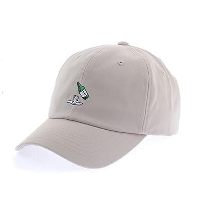 myglory77mall Baseball Trucker Golf Sports Adjustable Hats soju BALL CAPs  Beige 2fc82b3831d