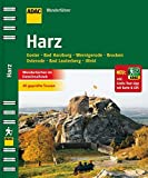 ADAC Wandeführer Harz inklusive Gratis Tour App: Goslar Bad Harzburg Wernigerode Brocken Osterode Bad Lauterberg Ilfeld (ADAC Wanderführer)