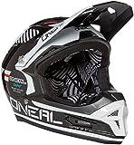 O'Neal Fury RL II Afterburner BMX or Mountain Bike Helmet (Black/White, X-Large)