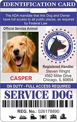 2-Piece Animal & Owner Service Identification