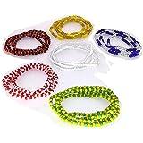 6 Collares De Santeria, Eleggua, Obbatala, Shango, Yemaya, Oshun Y Orula, Ifa, Religion Yoruba, Afro-cubana