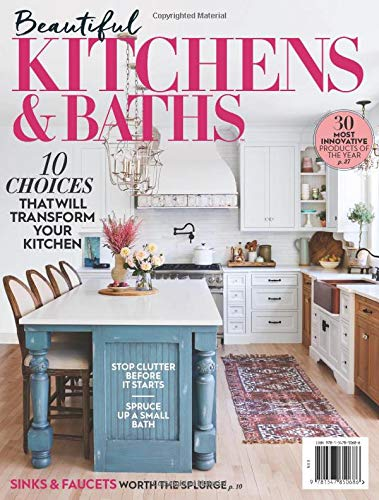 Beautiful Kitchens And Baths The Editors Of Beautiful Kitchens And Baths 9781547850686 Amazon Com Books
