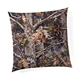 Glenna Jean Camo Baby 18''x 18'' Pillow with Fill for Baby Nursery, Decorative Soft Cushion Square