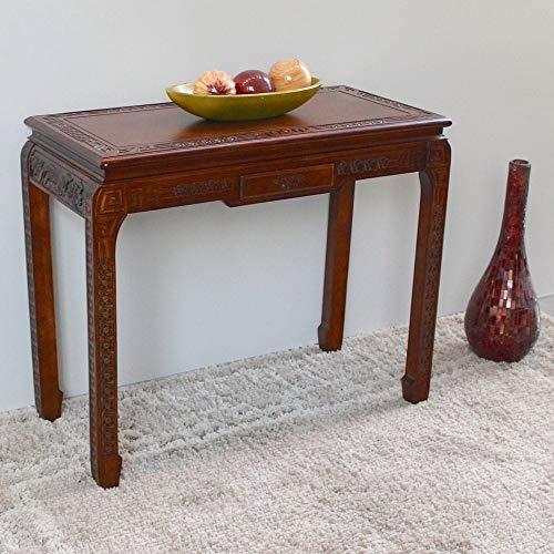 International Caravan Furniture Piece Windsor One Drawer Ming Console Table