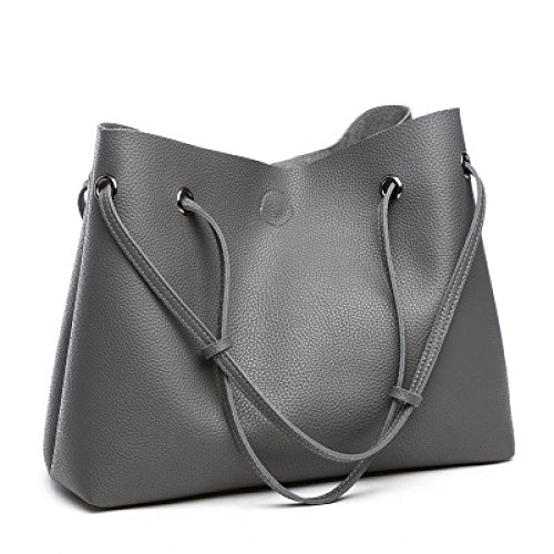 Women's Female Bags Bags Top Messenger Bag Handle Gray Bag Bags Shoulder 44qURFw7