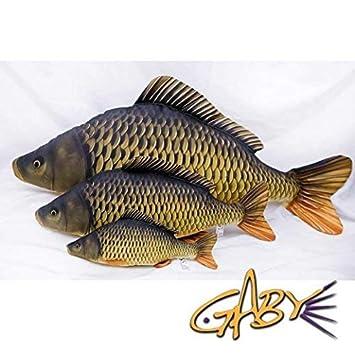 Gaby - La carpa escamas carpas de peluche 36 cm/64 cm/100 cm pescado Cojín: Amazon.es: Deportes y aire libre