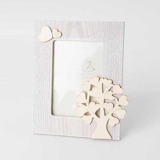 Portafotos de madera con diseño de árbol de la vida de 15 x 18 cm ...