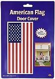 decorative door cover - Beistle 57084 American Flag Door Cover, 30 by 5-Feet