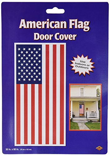 Beistle 57084 American Flag Door Cover, 30 by -