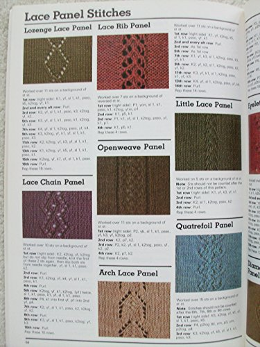 The Harmony Guide to Knitting Stitches: Knit and Purl Patterns / Rib Patterns / All-over Lace Patterns / Lace Panel Stitches / Patterns for Texture and Colour / Basic Cables / Cable Patterns / Edging by Lyric Books (Image #1)