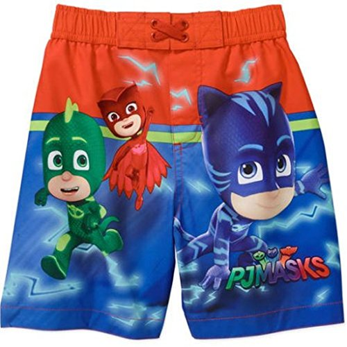 PJ Masks Toddler Boy Swim Trunks (3T)