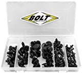 BOLT MC HARDWARE 2009-RIVETS SPORTBIKE/SCOOTER RIVET KIT
