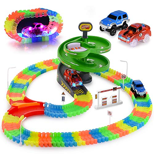 Glow Race Tracks Set - Compatible with Magic Tracks for sale  Delivered anywhere in USA