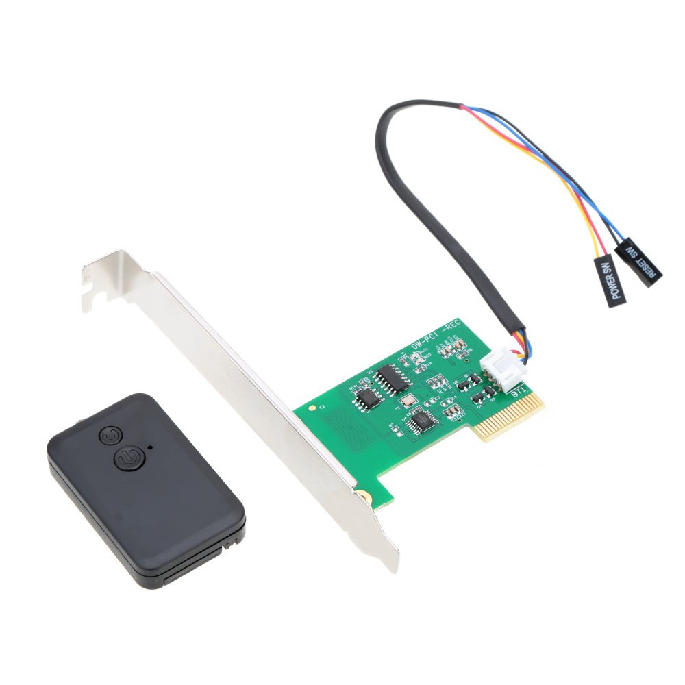 KKmoon Wireless Switch Turn On Off Restart ComputerMini PCIe 20m Wall-through Remote Control Desktop