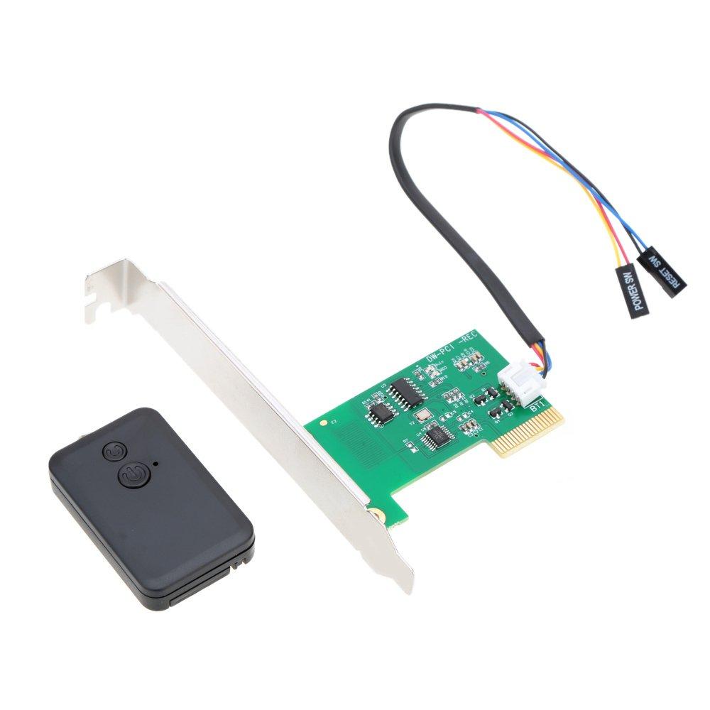 KKmoon Wireless Switch Turn On Off Restart ComputerMini PCIe 20m Wall-through Remote Control Desktop by KKmoon