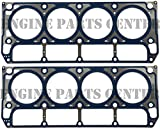 VICTOR Head Gaskets/2 MLS for Chevy Buick GMC Cadillac 4.8L & 5.3L 99-07 VIN-B,T,Z,V,P (2 Gaskets)
