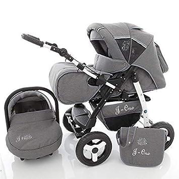 SaintBaby Kinderwagen Jag-Cat 2in1 3in1 Set alles in einem Babyschale Buggy