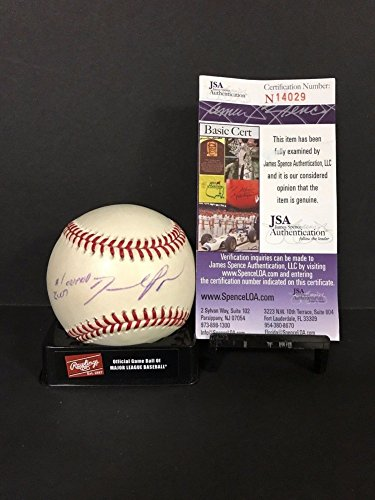 David Baseball Price Autographed (David Price Signed Auto Signed Rawlings Official Major League Baseball Baseball JSA Authentic #1 Overall Pick 2007 - Certified Authentic)