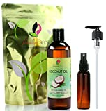 Best Coconut Oils - Flawless Faces Fractionated Coconut Oil in Large Dark Review