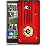 Head Case Designs Techno Vintage Radio Phone Protective Snap-on Hard Back Case Cover for Nokia Lumia 930 Icon...