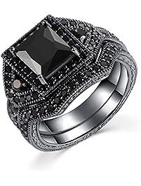 womens bridal sets amazoncom - Wedding Ring Sets For Women