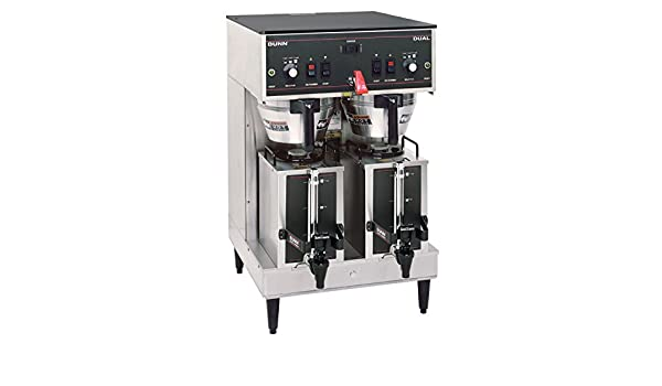 Bunn 20900 0011 Dual Satellite Brewer With 1 5 Gallon Portable Server Industrial Scientific Commercial Espresso Machines Coffee Makers