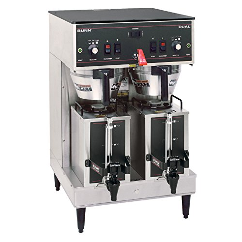 BUNN 20900.0011 Dual Satellite Brewer with 1.5-Gallon Portable Server