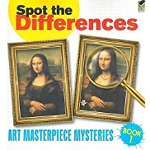 Spot the Differences Book 1: Art Masterpiece Mysteries