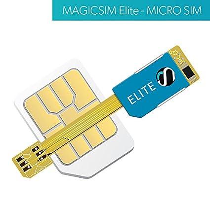 Magic-Sim Elite - Adaptador de Tarjeta Micro SIM - Dual SIM ...