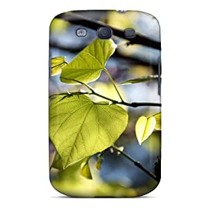 Jesussmars Fashion Protective Tree Leaves Bokeh Case Cover For Galaxy S3