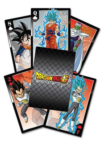 Great Eastern Entertainment Dragon Ball Z Dragon Ball Super Resurrection F Characters Playing Cards