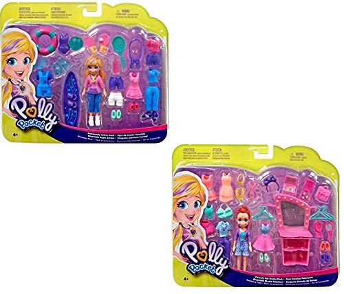 - Polly Pocket Lila Doll Sets with Fashions and Accessories (2 Items)