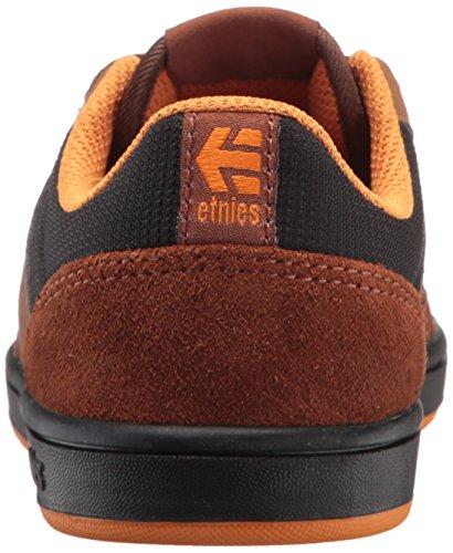 etnies EtniesKids Marana - Zapatillas de Skateboard Unisex Niños Marrón (Brown/black)