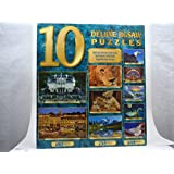 10 Full Size Deluxe Jigsaw Puzzles by Sure-Lox