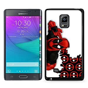 Great Quality Samsung Galaxy Note Edge Case ,Deadpool 3 Black Samsung Galaxy Note Edge Cover Case Hot Sale Phone Case Unique And Beatiful Designed
