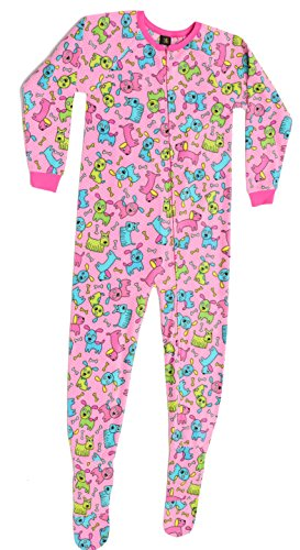 95599-3-10/12 Just Love Footed Pajamas / Micro Fleece Blanket (Girls Footed Sleeper Pajama)