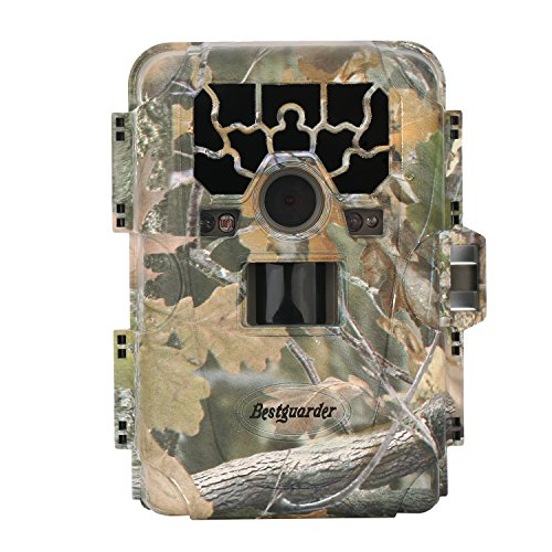 Bestguarder HD Waterproof IP66 Infrared Night Vision Game & Trail Hunting Scouting Ghost Camera Take 12MP Image & 1080p Video From 75feet/23m Distance(SG-880V)