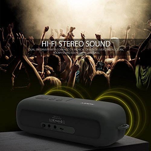 AUKEY Bluetooth Speaker, Portable Wireless Speaker with Stereo...