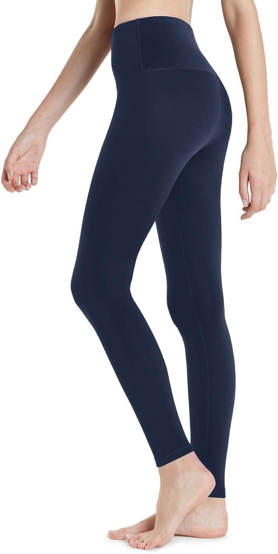TSLA Womens Thermal Yoga Pants Wintergear Compression Leggings Tights