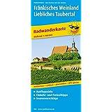 Fränkisches Weinland - Liebliches Taubertal: Radwanderkarte mit Ausflugszielen, Einkehr- & Freizeittipps, reißfest, wetterfest, abwischbar und GPS-genau. 1:100000 (Radkarte / RK)